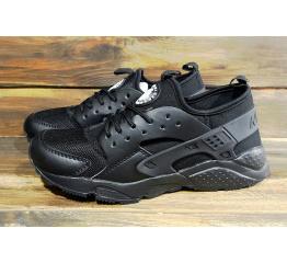 Купить Мужские кроссовки Nike Air Huarache черные