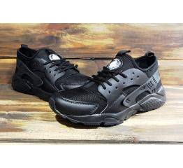 Купить Чоловічі кросівки Nike Air Huarache чорні в Украине
