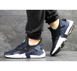 Купить Чоловічі кросівки Nike Air Huarache Drift сині з чорним