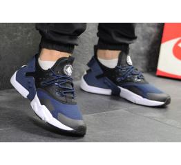 Купить Чоловічі кросівки Nike Air Huarache Drift сині з чорним в Украине
