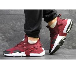 Купить Мужские кроссовки Nike Air Huarache Drift бордовые