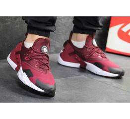 Купить Мужские кроссовки Nike Air Huarache Drift бордовые в Украине