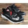 Женские кроссовки Nike Air Huarache x Off White черные