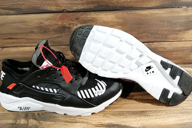 f6313b54 Nike (Найк) кроссовки Air Huarache x Off White черные купить | ASPOLO