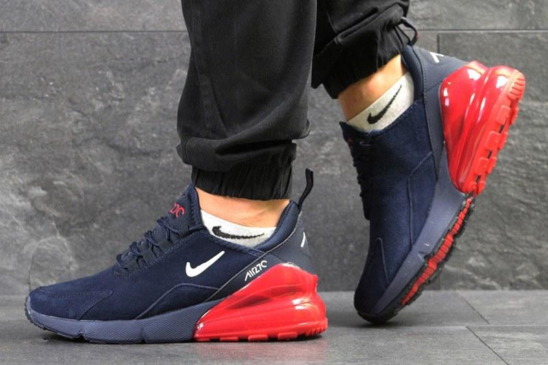 95c1000d Nike (Найк) кроссовки Air Max 270 темно-синие с красным купить   ASPOLO