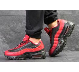 Купить Мужские кроссовки Nike Air Max 95 OG красные с черным