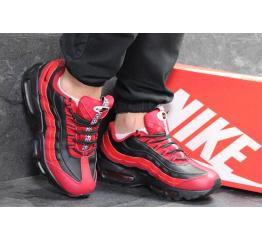 Купить Мужские кроссовки Nike Air Max 95 OG красные с черным в Украине