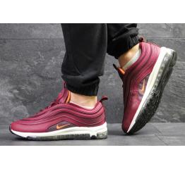 Купить Мужские кроссовки Nike Air Max 97 бордовые