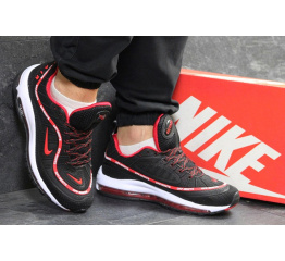 Купить Мужские кроссовки Nike Air Max 98 х Off-White черные с красным в Украине