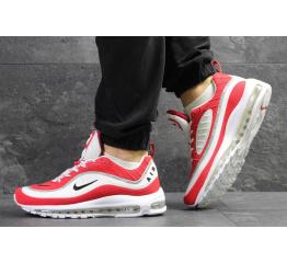 Купить Мужские кроссовки Nike Air Max 98 х Off-White красные с белым