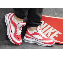 Купить Мужские кроссовки Nike Air Max 98 х Off-White красные с белым в Украине