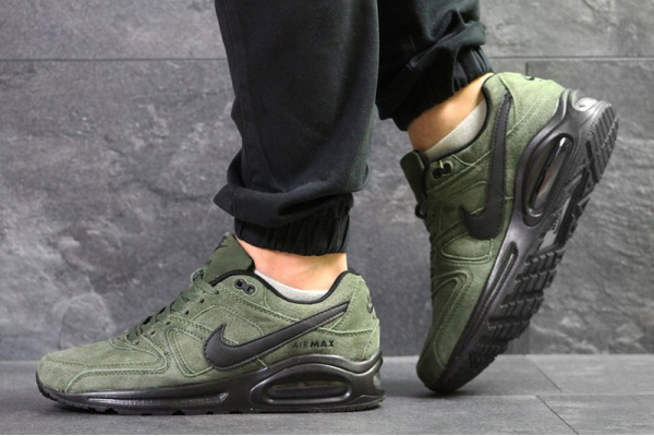 Мужские кроссовки Nike Air Max Command зеленые