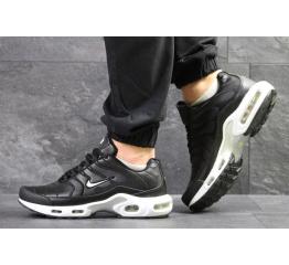 Купить Чоловічі кросівки Nike TN Air Max Plus чорні з білим