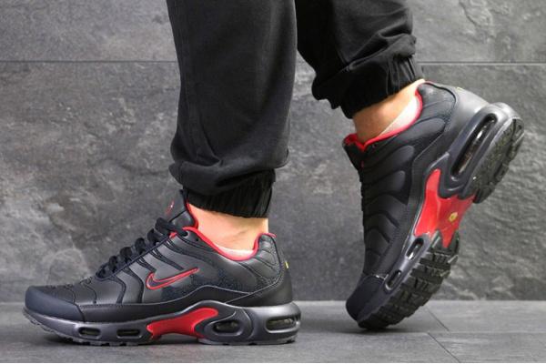 Мужские кроссовки Nike TN Air Max Plus темно-синие с красным