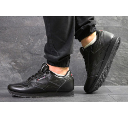 Купить Чоловічі кросівки Reebok Classic Leather чорні
