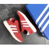 Женские кроссовки Adidas Iniki красные