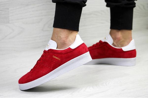 Женские кроссовки Adidas Topanga красные