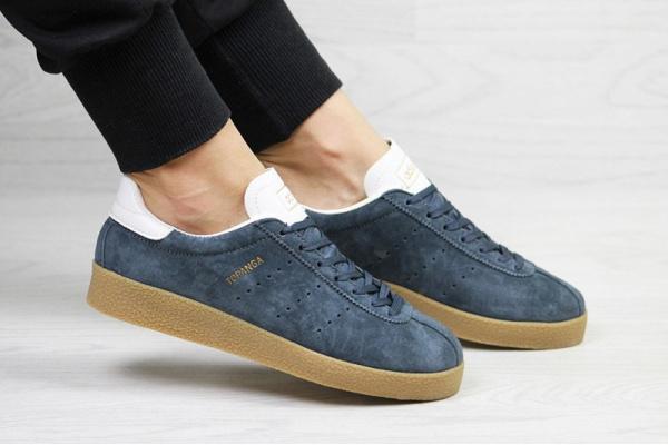 Женские кроссовки Adidas Topanga синие