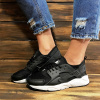 Женские кроссовки Nike Air Huarache белые черные с белым