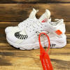 Женские кроссовки Nike Air Huarache x Off White белые