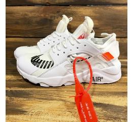 Купить Женские кроссовки Nike Air Huarache x Off White белые