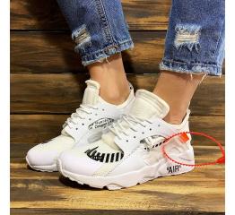 Купить Жіночі кросівки Nike Air Huarache x Off White білі в Украине