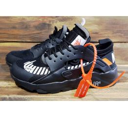 Купить Жіночі кросівки Nike Air Huarache x Off White чорні