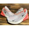 Женские кроссовки Nike Air Max 270 серые с розовым