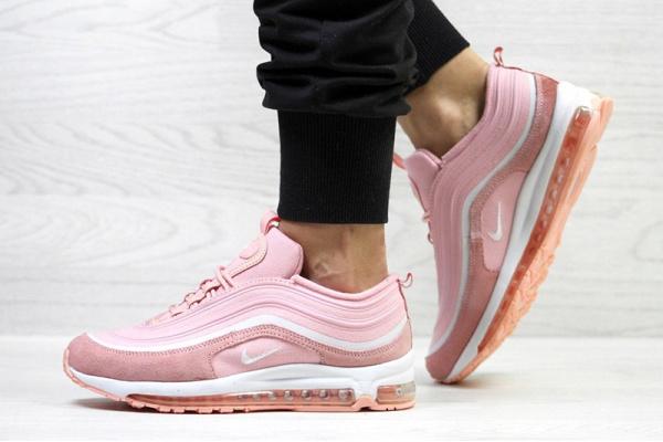 Женские кроссовки Nike Air Max 97 розовые
