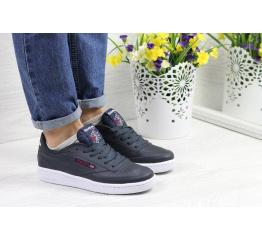 Купить Женские кроссовки Reebok C85 темно-синие