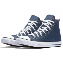 Купить Чоловічі кеди Converse Chuck Taylor All Star High сині в Украине