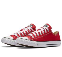 Купить Чоловічі кеди Converse Chuck Taylor All Star Low червоні в Украине