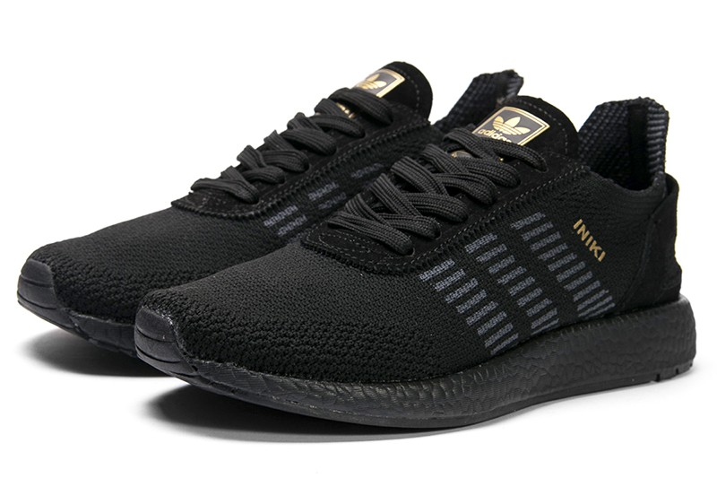 Recuperar haz edificio  Купить мужские кроссовки Adidas Iniki Runner Boost Primeknit черные в  Украине | ASPOLO.ua