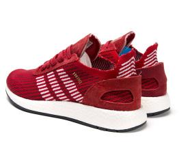 Купить Чоловічі кросівки Adidas Iniki Runner Boost Primeknit червоні в Украине