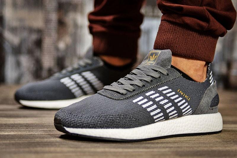 vídeo estrategia Colgar  Купить мужские кроссовки Adidas Iniki Runner Boost Primeknit серые в  Украине | ASPOLO.ua