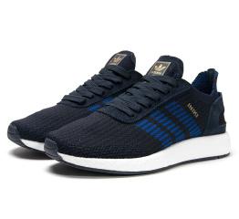 Купить Мужские кроссовки Adidas Iniki Runner Boost Primeknit темно-синие