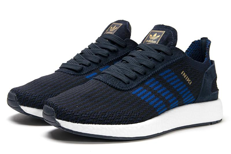 portátil especificar Insatisfactorio  Купить мужские кроссовки Adidas Iniki Runner Boost Primeknit темно-синие в  Украине | ASPOLO.ua