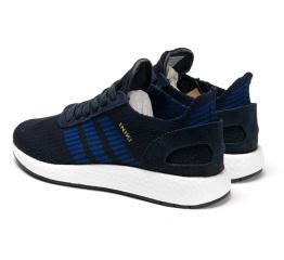 Купить Чоловічі кросівки Adidas Iniki Runner Boost Primeknit темно-сині в Украине