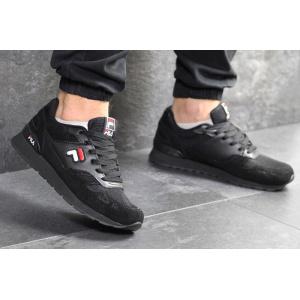 Мужские кроссовки Fila черные