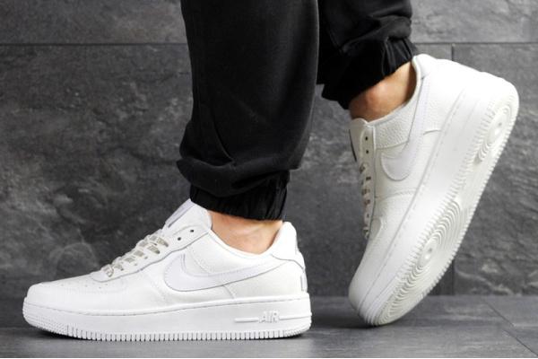Мужские кроссовки Nike Air Force 1 Low NBA белые