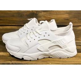 Купить Мужские кроссовки Nike Air Huarache белые