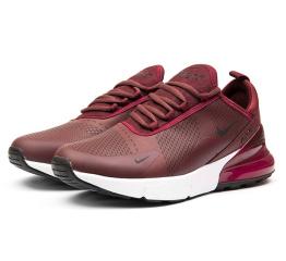 Купить Мужские кроссовки Nike Air Max 270 бордовые