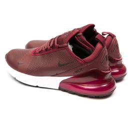 Купить Мужские кроссовки Nike Air Max 270 бордовые в Украине