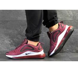 Купить Мужские кроссовки Nike Air Max 720 бордовые