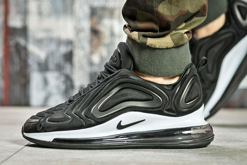 51ea0187 Nike (Найк) кроссовки Air Max 720 черные с белым купить | ASPOLO