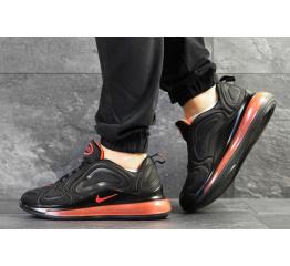 Купить Мужские кроссовки Nike Air Max 720 черные с оранжевым