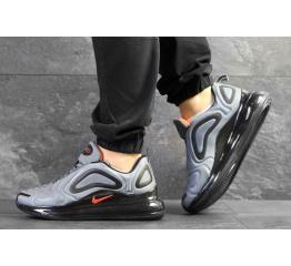 Купить Мужские кроссовки Nike Air Max 720 серые с черным