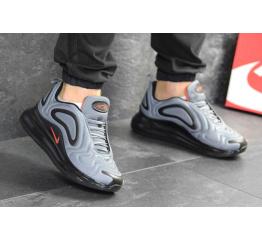 Купить Мужские кроссовки Nike Air Max 720 серые с черным в Украине