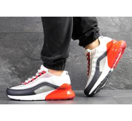 Купить Мужские кроссовки Nike Air Max 95 + Max 270 белые с красным