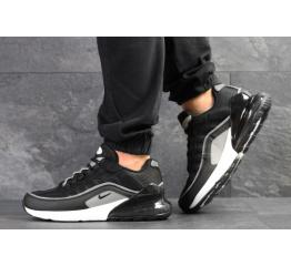 Купить Мужские кроссовки Nike Air Max 95 + Max 270 черные с серым